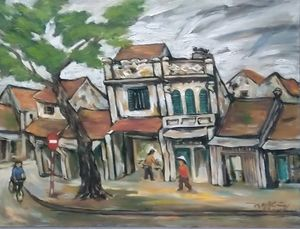 Ancient city of Hanoi 1