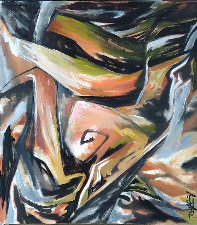 Âm dương giao hòa -  yin and yang - Artist Cuong Nguyen