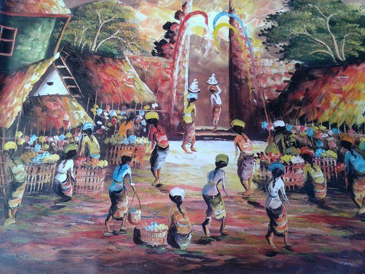 Traditional Market - Kadek Bonit Permadi