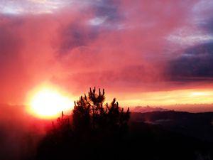 Sunset at Halsema