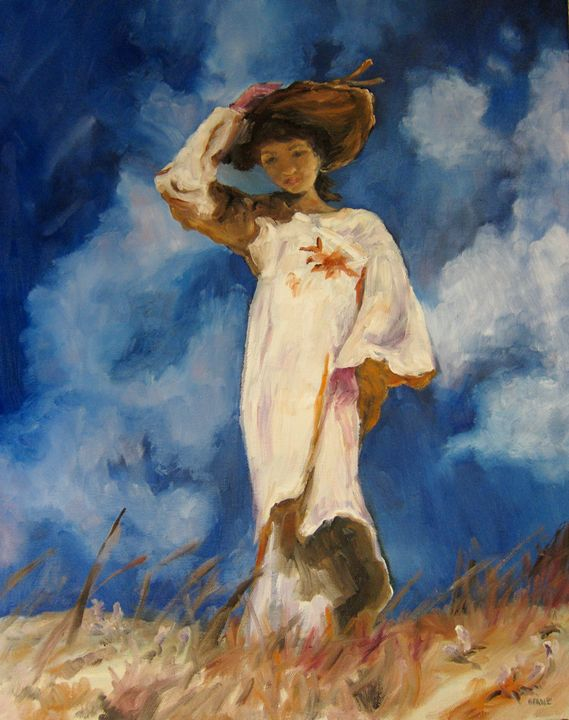 Lady In The Wind - SandhillsArtist