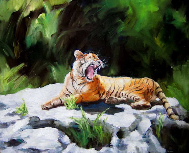 Tawny Tiger - SandhillsArtist