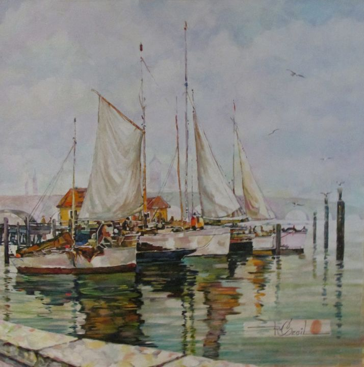 HARBOR BOATS - rccreativefineart.com