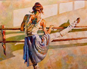A DANCER'S WORKOUT - rccreativefineart.com