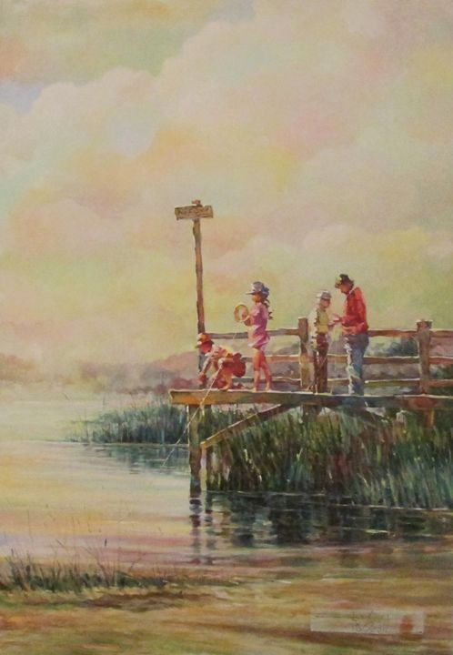 THE PIER FISHERS - rccreativefineart.com