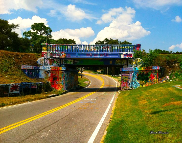 17th Avenue Graffiti Bridge - Pensacola Photography