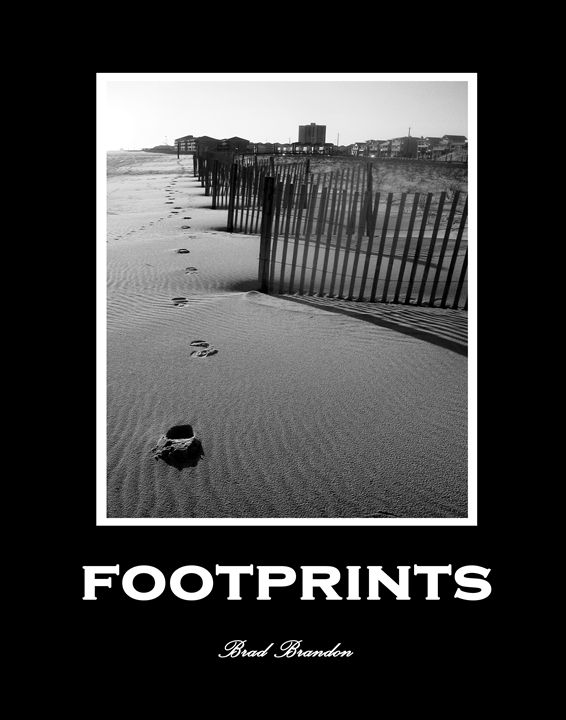 Footprints - Inspirational - Pensacola Photography