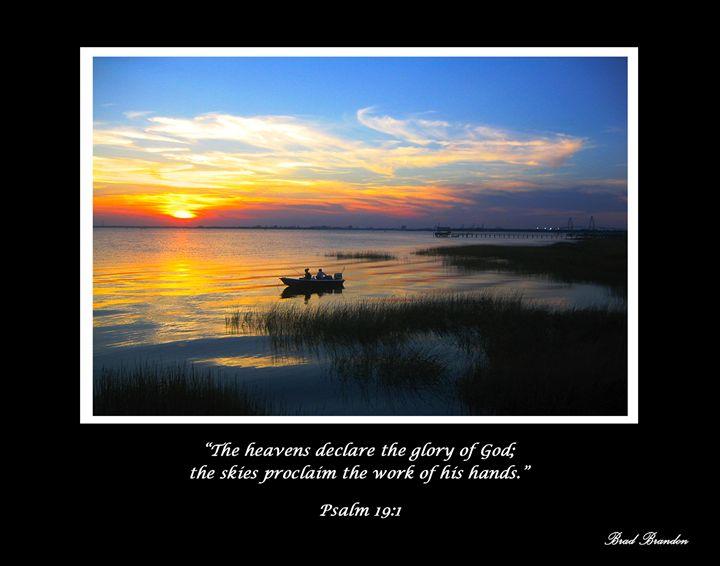 Sunset Psalm 19 - Pensacola Photography