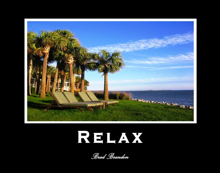 Relax - Inspirational - Pensacola Photography