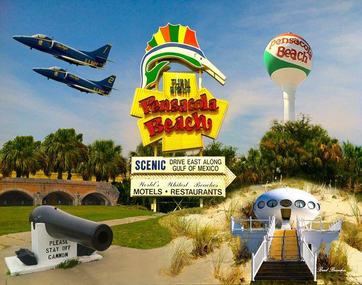 Pensacola Beach Collage - Pensacola Photography