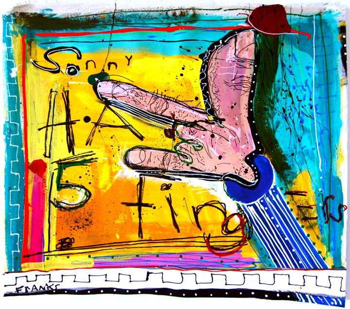 Sonny Had 5 Fingers - UglyFrankArt