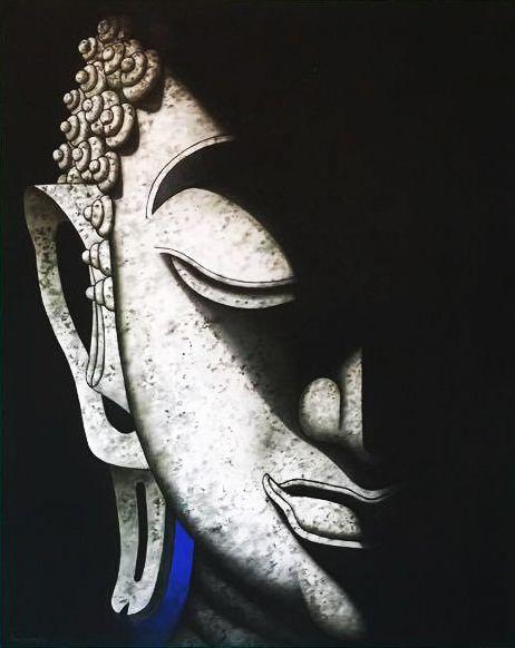 Handpainted Thai Buddha Painting - Royal Thai Art