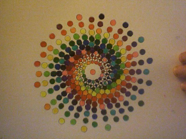 Spiraling Spectrum - Math + Art