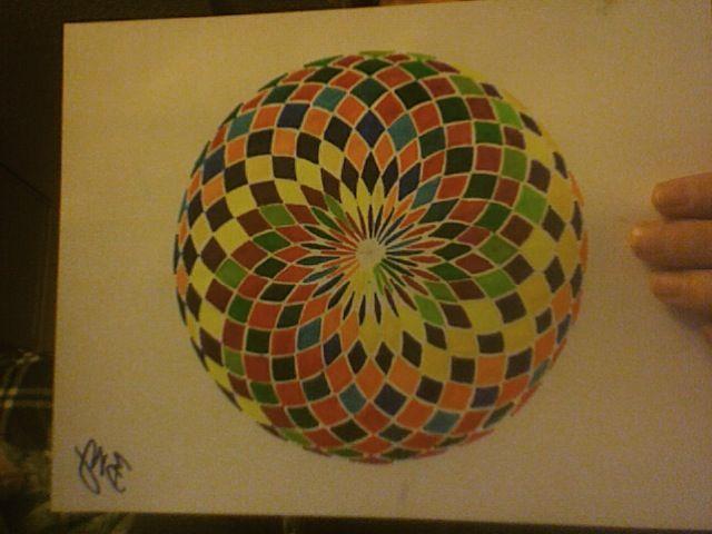 Tiled Torus - Math + Art