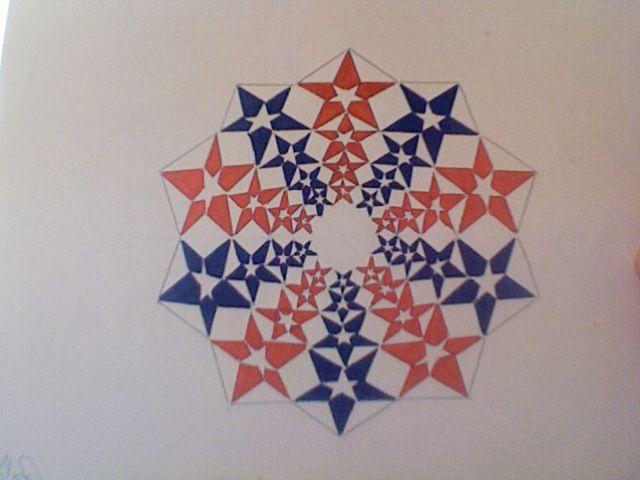 Stars and Stripes - Math + Art
