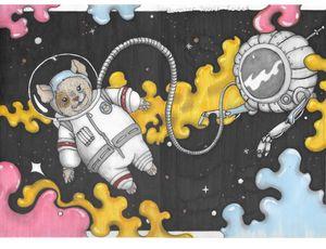 Space Cadet Hamster