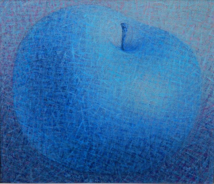 BLUE APPLE - Floare Muntean