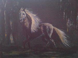Moonlight horse