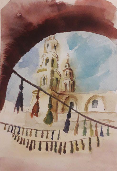 San Telmo - Buenos Aires - Soledad Vonk - Watercolors