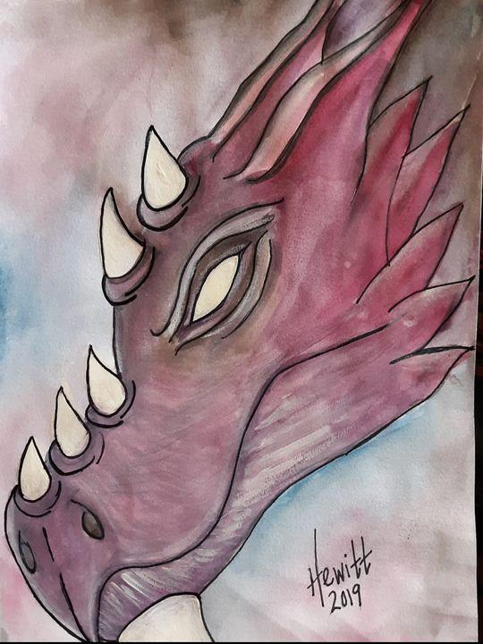 Dragon Face - Celestial D-Vine Design