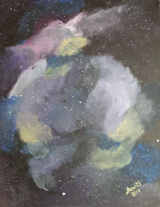Galaxy - Celestial D-Vine Design