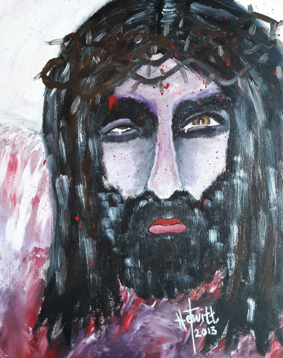 Crucified - Celestial D-Vine Design