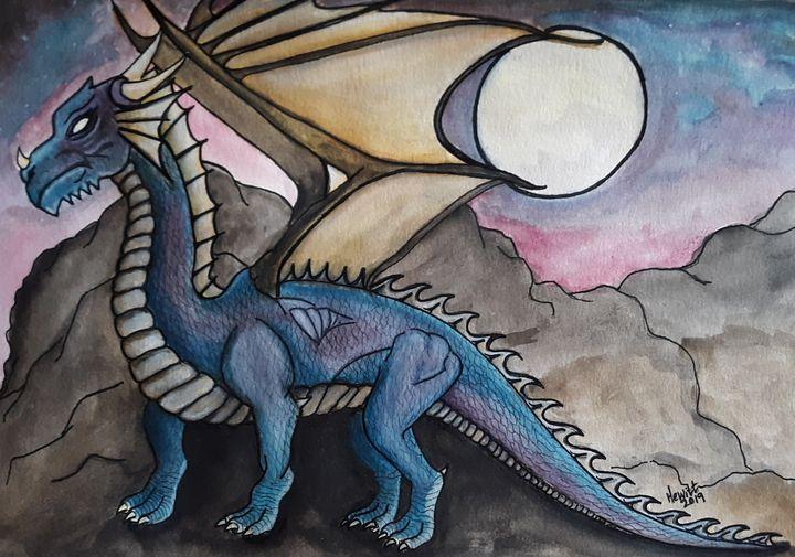Spirit of the Dragon - Celestial D-Vine Design