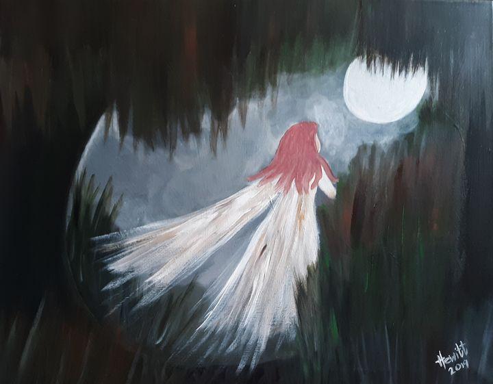 Moonlight Angel - Celestial D-Vine Design