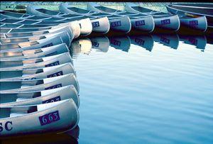Canoes abstract outdoors - oscarcwilliams