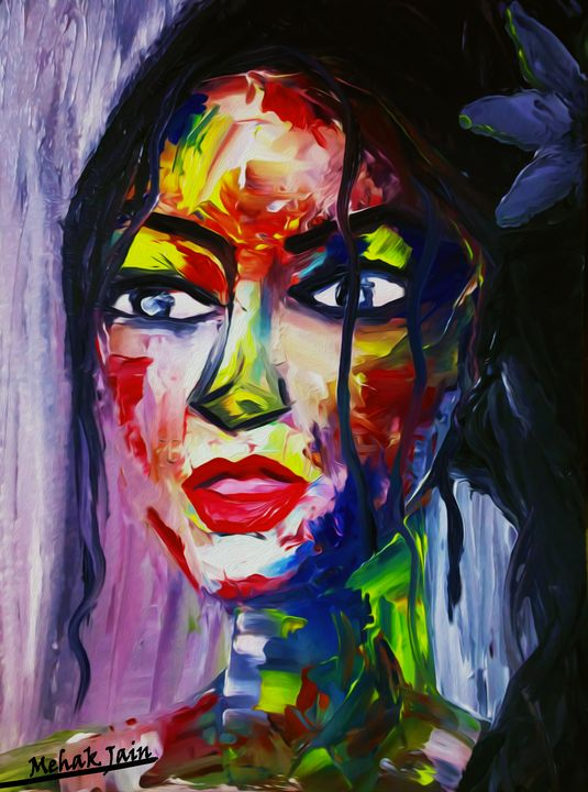 The Colorful You - Mehak arts