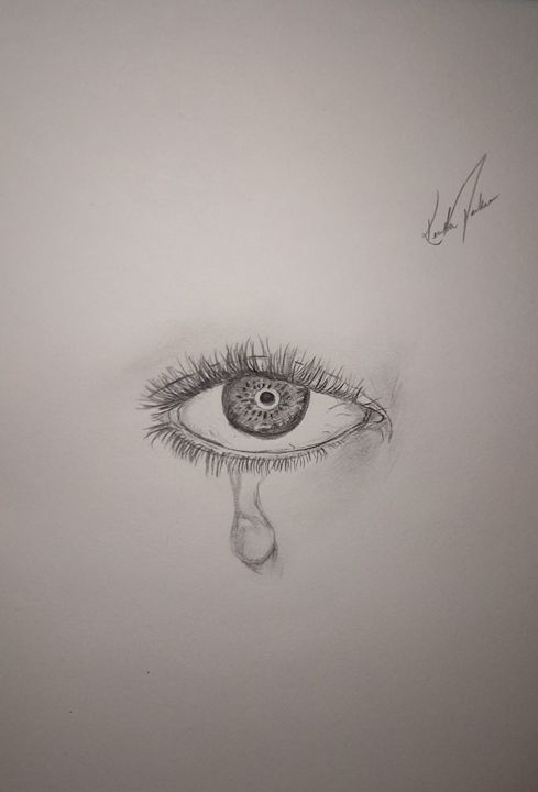 Tear drop - Kendra Durkee