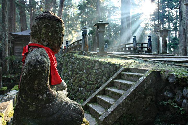 Okunoin Cemetery at Mount Koya - Neale Cousland