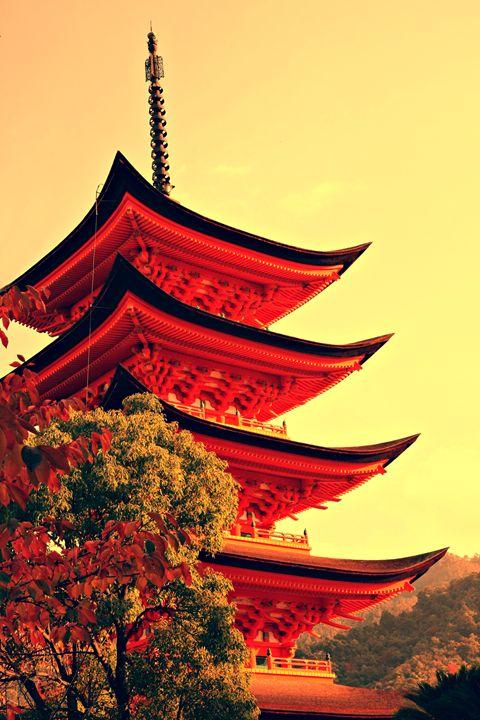 Five-storey pagoda in Miyajima - Neale Cousland