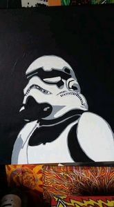 Star wars Hand Painted - Smart art
