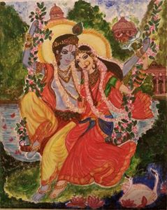 Eternal Love - Krishna & Radha