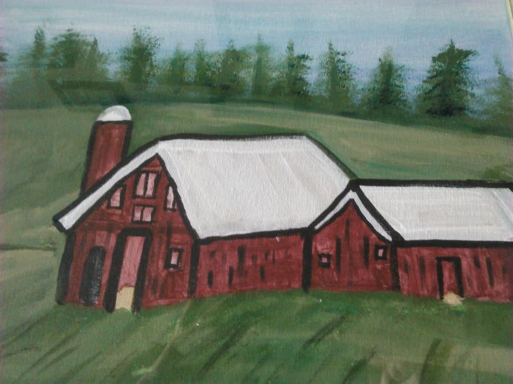 The barn - Tracy Garlanger