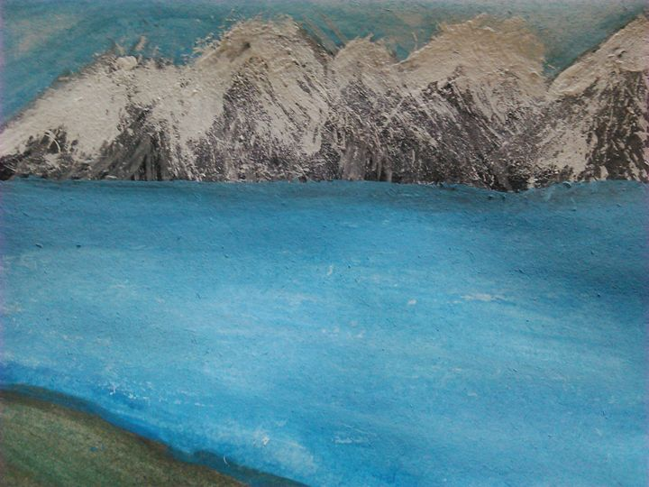 mountain side - Tracy Garlanger
