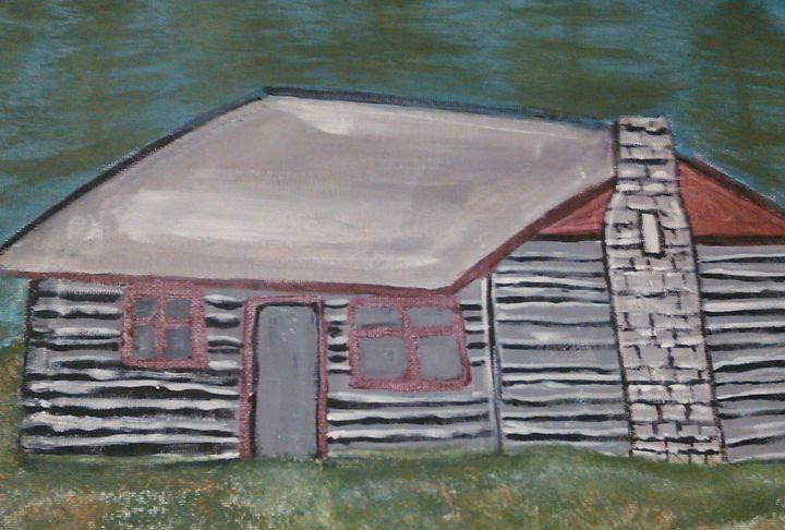 log cabin 2 - Tracy Garlanger