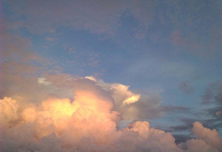 heavenly sky - Tracy Garlanger