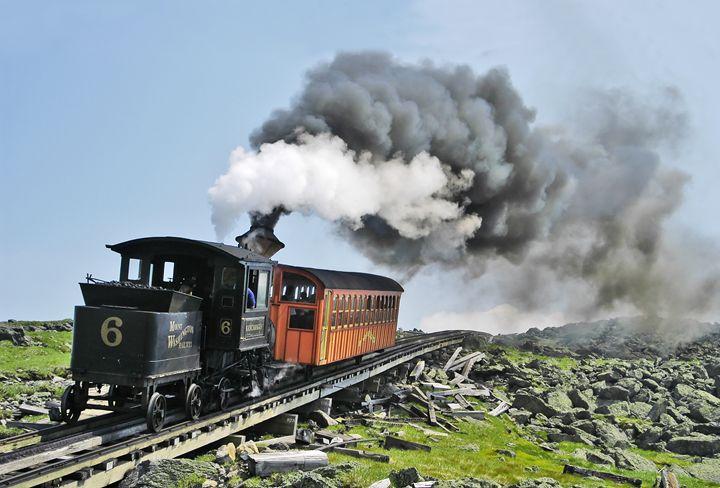 The Mount Washington Cog Railroad - Photography By Gordon Ripley