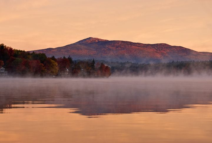Fall Sunrise on Pearly Pond - Photography By Gordon Ripley