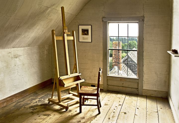 Painter's Loft - Photography By Gordon Ripley