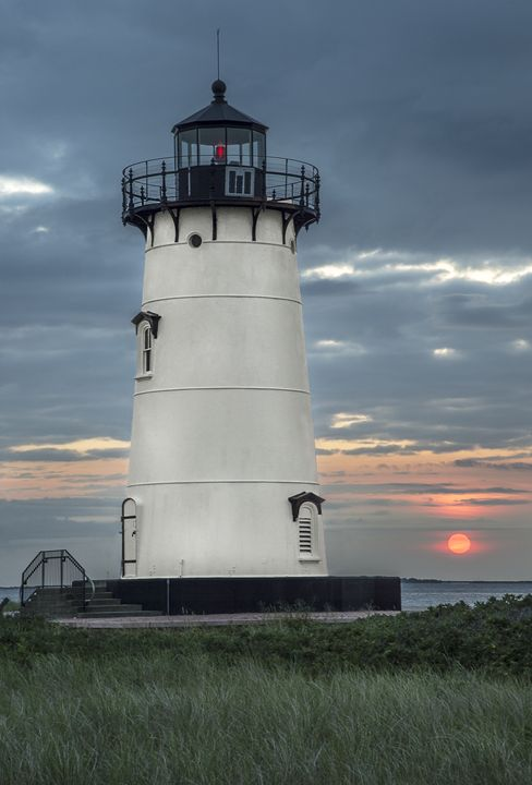 Sunrise at Edgartown Light - Photography By Gordon Ripley
