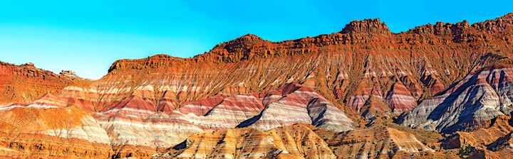 Multi-colored Paria hills - Photography By Gordon Ripley