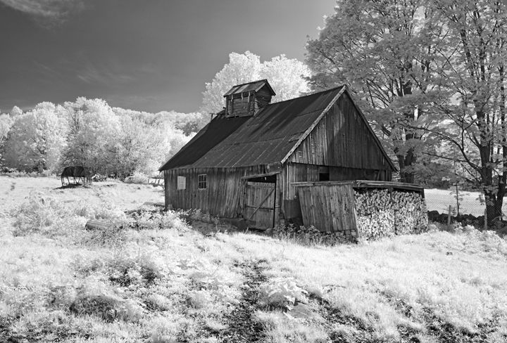 Vermont sugar shack - Photography By Gordon Ripley
