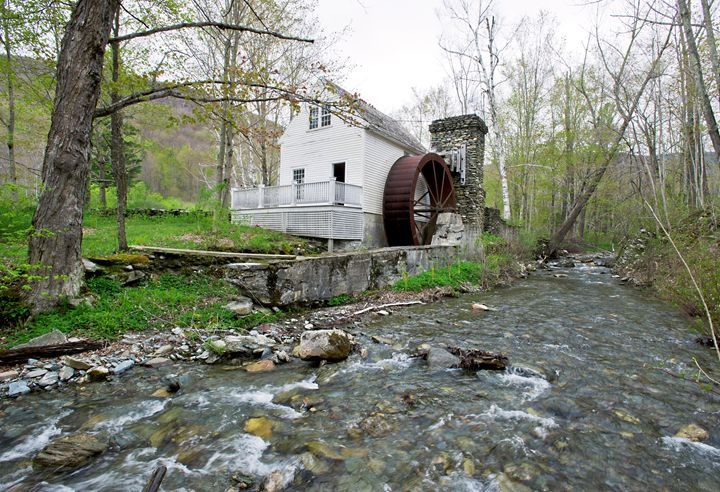 The Grist Mill - Dorset, Vermont - Photography By Gordon Ripley