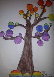 The Rainbow Tree of Friendship