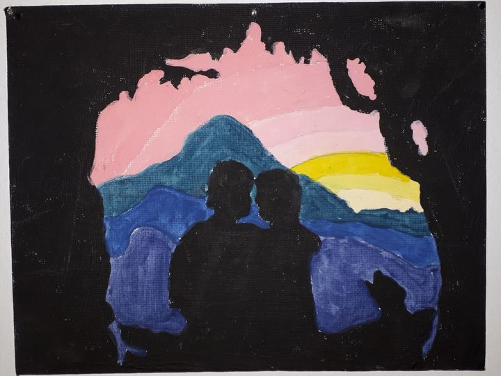 Lovers sunset - Priscilla Burt
