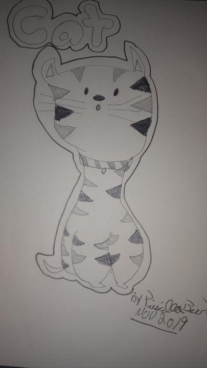 Cute cat - Priscilla Burt