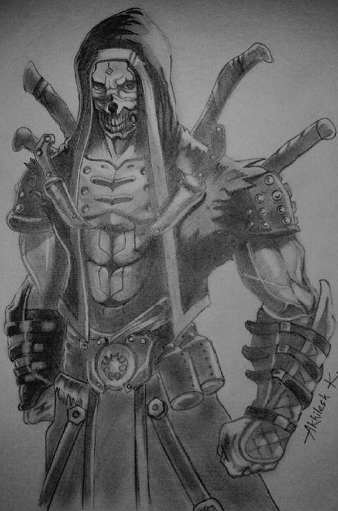 Ninja sketch - Akhilesh kumar